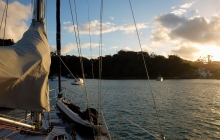 Anchored up at Kawau Island