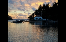 Bon Accord Harbour, Kawau, our home for almost 2 weeks