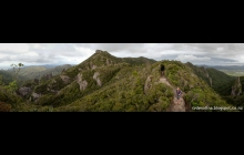 View over Great Barrier Island