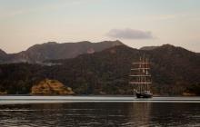 Spirit of New Zealand at Smokehouse Bay