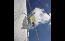 Sailing with the Rally Flag