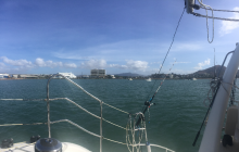 Over to Port of Townsville