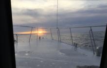 Towards the rising sun