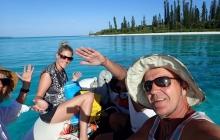 Heading for sundowners ashore