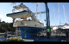 About to Splash - Gulf Harbour Marina 9th May 2017