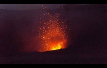 Mount Yasur is an easily accessible active volcano