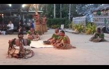 Robinson Crusoe Island, Viti Levu, Fiji - Cultural show.