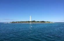 Amedee island - best water visibility close to Noumea