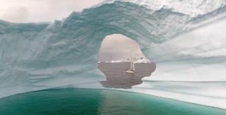 Arianna in Antarctica
